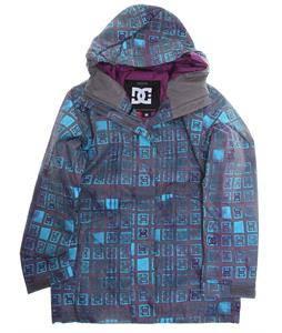 DC Fuse Snowboard Jacket Dark Gull Grey Monogram