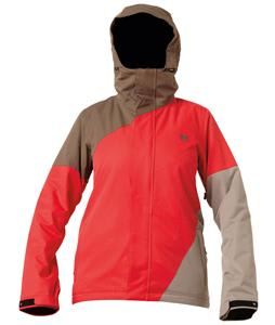 DC Fuse Snowboard Jacket Red