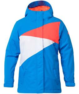 DC Fuse K Snowboard Jacket Electric Blue Lemonade
