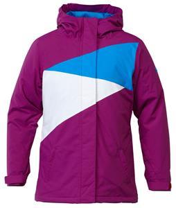 DC Fuse K Snowboard Jacket Hollyhock