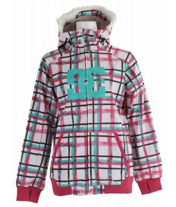 DC Gamut Snowboard Jacket Crazy Pink Plaid