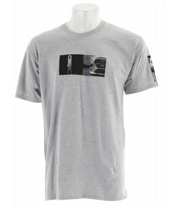 DC Gymkhana Split T-Shirt Heather Grey