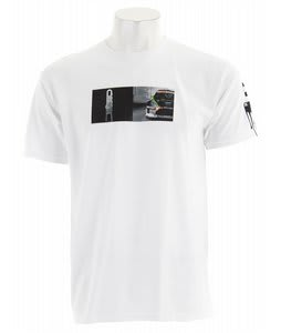 DC Gymkhana Split T-Shirt White