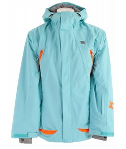 DC Helix Snowboard Jacket Viz Blue Radiance
