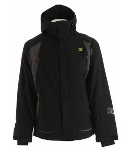 DC Helix Snowboard Jacket Black Shadow