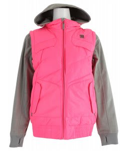 DC Holly Snowboard Jacket Gogi/Heather Galvanized