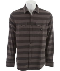 DC Howler L/S Flannel Dark Shadow
