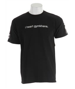 DC I Heart Gymkhana T-Shirt Black
