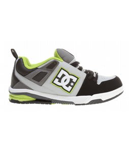 DC Impact RS Skate Shoes Black/Armor/Soft Lime