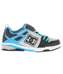 DC Impact RS Skate Shoes Black/Armor/Turquoise