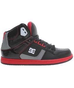 DC Inbound Skate Shoes Black/Red/Red