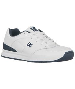 DC Juno Skate Shoes White/Lt Navy