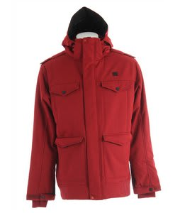 DC Kato Snowboard Jacket Biking Red