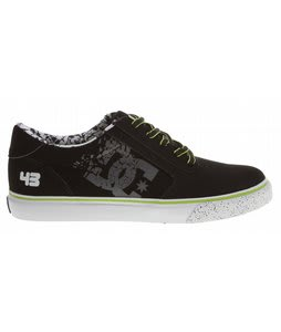 DC Ken Block Gatsby 2 Skate Shoes Black/Lime