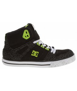 DC Ken Block Spartan HI Skate Shoes Black/Soft Lime/Black