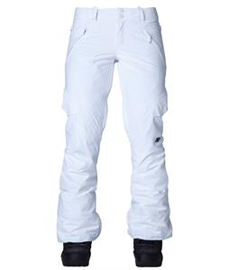 DC Lace Snowboard Pants Bright White