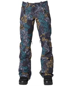 DC Lace Snowboard Pants Rose Camo
