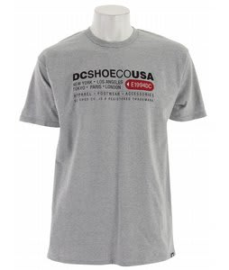 DC Lahbel T-Shirt Heather Grey
