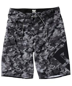 DC Lanai Boardshorts Black Camo