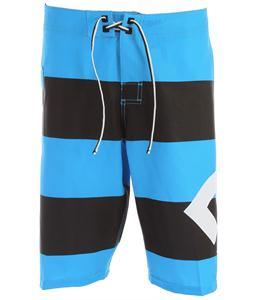 DC Lanai Boardshorts Bright Blue Big Stripe