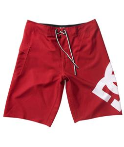 DC Lanai Boardshorts Deep Red