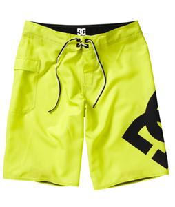 DC Lanai Boardshorts Fluorescent Yellow