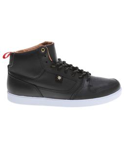 DC Landau HI Unrestricted Skate Shoes Black/Gold