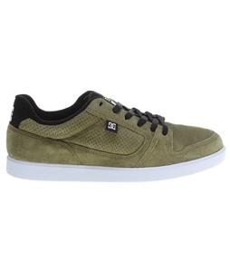 DC Landau S Skate Shoes Olive Black