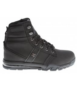 DC Lieutenant WR Boots Black/Dark Shadow
