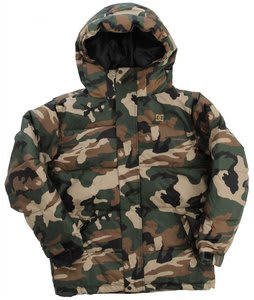 DC Linear K Snowboard Jacket Camo