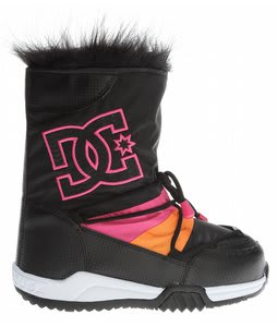 DC Lodge Boots Black/Crazy Pink/Black