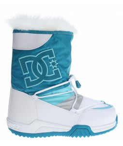 DC Lodge Boots White/Blue/Grey