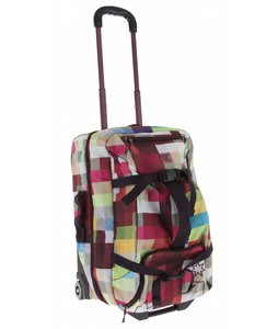DC Mile High Wheely Duffle Bag Pixel