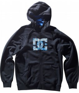 DC MLF Star ZHM Full Zip Hoodie Black
