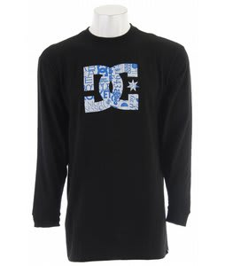 DC Mlf Star Fill L/S T-Shirt Black