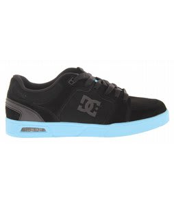 DC Monty Skate Shoes Black/Aquarius