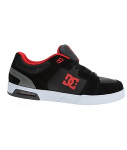 DC Monty Skate Shoes Black/Athletic Red