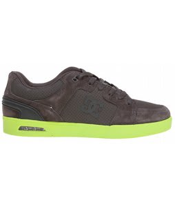 DC Monty Skate Shoes Pirate Black/Soft Lime