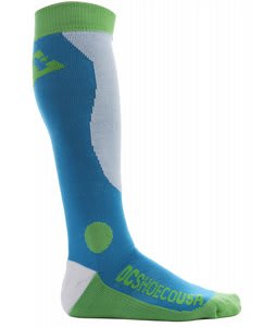DC Morpho Snowboard Socks Blue Jay
