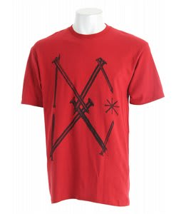 DC Nails T-Shirt Deep Red