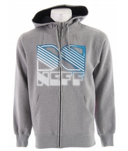 DC Neff Hooded Fleece Grey Heather