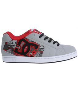 DC Net SE Skate Shoes Armor/Athletic Red