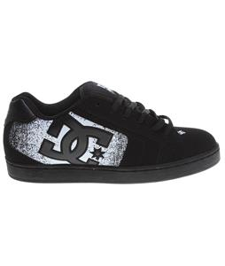 DC Net SE Skate Shoes Black/White/Graffiti