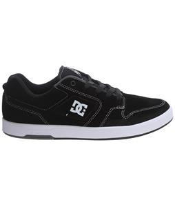 DC Nyjah S Skate Shoes Black/White/White