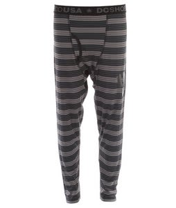 DC Onyx Baselayer Pant Grey Stripe