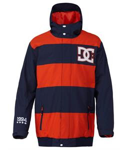 DC Overdrive Snowboard Jacket Dress Blue