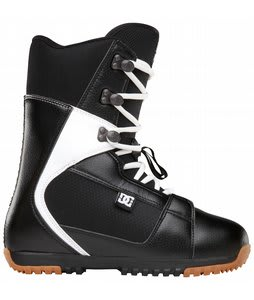 DC Park Snowboard Boots Black/White