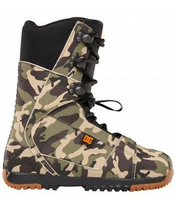 DC Park Snowboard Boots Camo