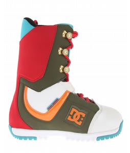 DC Park Snowboard Boots White/Olive