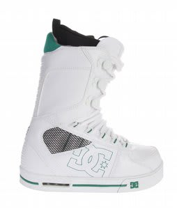 DC Park Snowboard Boots White Green